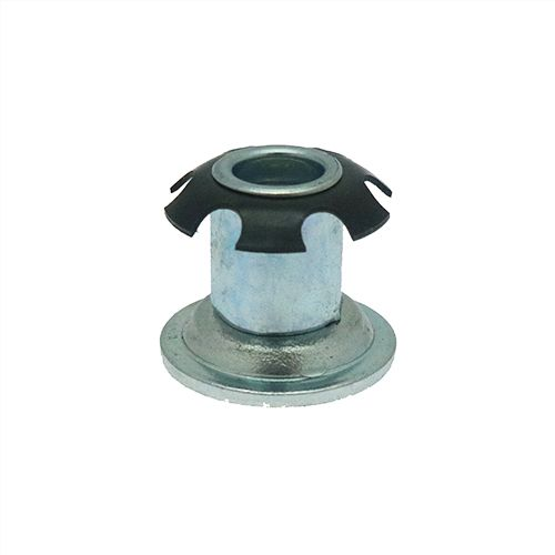 Metal Round Threaded Spring Inserts For Tubes M6 M10