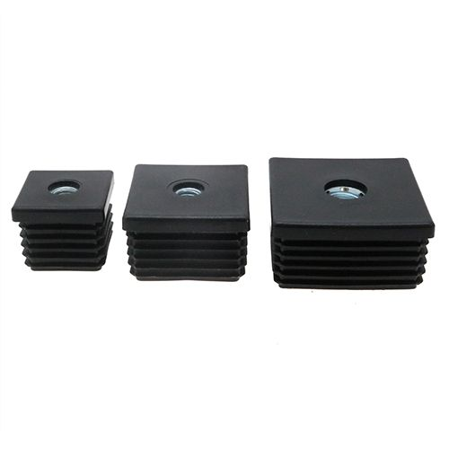 Square Threaded Tube Inserts Set of 4 Inserts M10 Thread